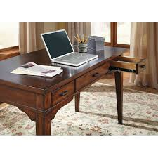 home office writing desk. liberty furniture leyton writing desk with optional credenza tobacco hayneedle home office