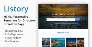 Template For Directory Listory Html Responsive Template For Directory By Crenoveative