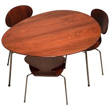 jacobsen furniture. Exceptional Early Brazilian Rosewood Egg Table And Ant Chairs By Arne Jacobsen For Sale At 1stdibs Furniture E