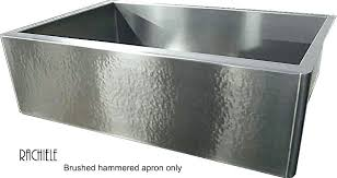 hammered stainless steel farmhouse sink. Hammered Metal Sink Stainless Steel Farmhouse Home Design Ideas And Pictures Nickel Brushed Ni To