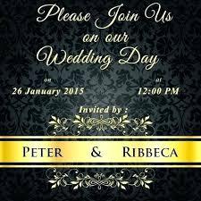 Online Wedding Invitation Templates Design Maker Free Printable Card