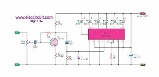 4 led voltage indicator circuits eleccircuit com ka2284