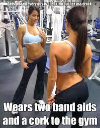 attention whore gym girl memes | quickmeme via Relatably.com