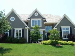 Showy Grey Exterior House Of And Exterior Paint Colors That Make - Exterior paint combinations photos