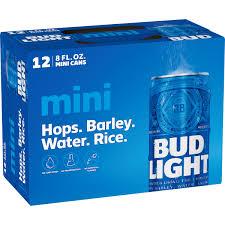12 Pack Bud Light Bottles Bud Light Beer 12 Pack Beer 8 Fl Oz Cans Walmart Com