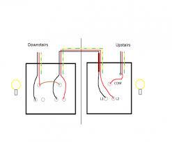 2 switch wiring circuit popular wiring diagram two way 2 switch wiring circuit practical do staircase wiring circuit 3 different methods electrical