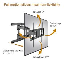 extraordinary full motion tv wall mount 70 inch depot loctek l t v articulating flat panel bracket 42 canada with shelf target costco rocketfish