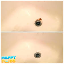removing rust from bathtub rust spots in bathtub bathtub rust repair in by happy tubs while removing rust from bathtub