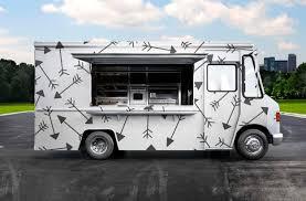 Food Truck Design Psd Burger Food Truck Design Mockup