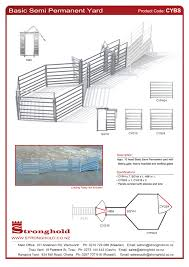 Cattle Yard Designs 10 Head Cattle Yard Sets