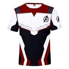 <b>Avengers</b> 4 Endgame Quantum Realm Cosplay Costume T <b>Shirt</b> ...