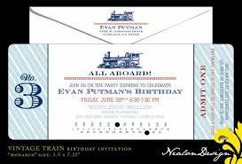train invitation template free free printable train ticket template and unique birthday invitation