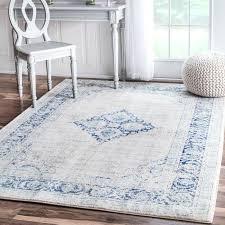 light blue area rug 8x10