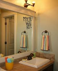 5 fans of poor moaning myrtle will appreciate this mirror decoration