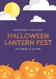 halloween sale flyer customize 43 halloween flyer templates online canva