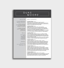 Resume Docx Free Download Kostenlose Word Vorlage Lebenslauf