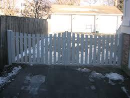 white picket fence driveway gate Google Search Outside