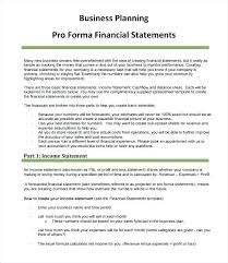 Pro Forma Cash Flow Projections Pro Forma Cash Flow Template Excel