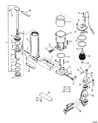 Power trim ponents single ram power trim for mariner mercury