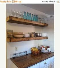 Cheap Floating Shelves Sale Custom Wood Floating Shelves 32inches Deep Rustic Shelf Farmhouse