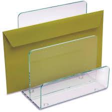 acrylic desk file organizer