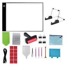 Diamond Painting Light Box Amazon Com 27pcs Diamond Painting Light Board A4 Portable