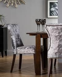 dining chairs velvet underground