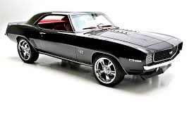 chevrolet camaro 1969 black. Delighful Black 1969 Chevrolet Camaro RSSS Blackred 396 To Black American Dream Machines