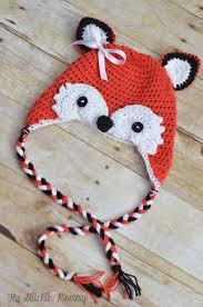 Crochet Fox Hat Pattern