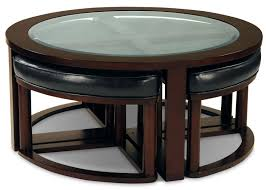 Coffee Table Stool Sierra Coffee Table With Four Ottoman Wedge Stools The Brick
