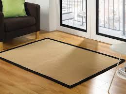 natural fibre dobby weave jute black border rug 120x170cms 69 00