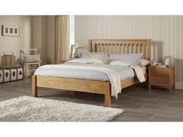 Lincolnshire Oak Bed Frame Slatted Bedstead-5'0 King Size