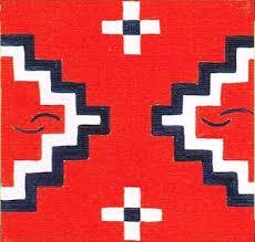 Navajo rug patterns Easy Two Grey Hills Navajo Rug Design