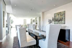 white dining banquette seating