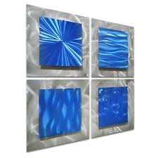 image is loading pure art scent of freedom small blue abstract  on blue abstract metal wall art with pure art scent of freedom small blue abstract metal wall art decor