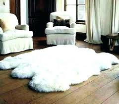 faux fur area rugs sheepskin rug impressive white accents 8x10 grey