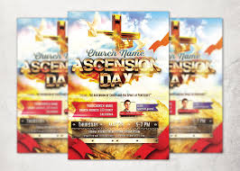 Ascension Day Church Flyer Template | Inspiks Market