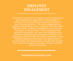 engagement and motivation the enlightened employer  emotional connection an employee feels