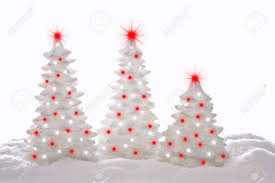 Contemporary sparkle Christmas trees. Stock Photo - 8101709