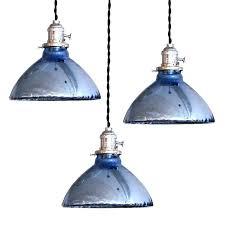 mercury glass pendant lighting. Blue Glass Pendant Light Mercury Lights At And Lighting