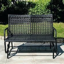 outdoor glider bench wicker porch glider outdoor 2 person wicker glider bench chair patio porch swing outdoor glider bench