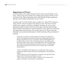 essay on water conservation water conservation essay examples kibin