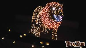 Phoenix Zoo Lights Address Phoenix Zoo Attraction With 3 5 Million Lites For Christmas