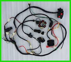 gy6 150cc go kart wiring harness gy6 image wiring full electrics wiring harness cdi coil solenoid gy6 150cc atv quad on gy6 150cc go kart