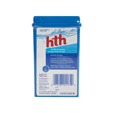 Hth 6 Way Test Kit Color Chart Hth Multi Purpose 6 Way Test Strips