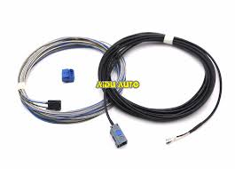 reverse wiring harness reviews online shopping reverse wiring oem rear view camera reversing cable wire harness for mib radio camera