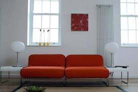 R Rust Color Couch Sofa For Living Leather Sectional  Colored Decor