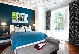 accent walls for bedrooms. Accent Walls Ideas Posh Boys Bedroom With A Beautiful Blue Wall And Creative Ceiling For Bedrooms O