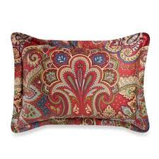 standard pillow shams. Cozy Regent Paisley Standard Pillow Sham In Red Shams I