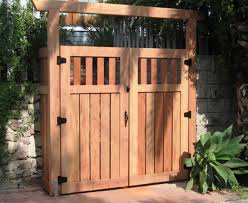 Interesting Wood Fence Gate Plans Gates Fences Designs And Decor